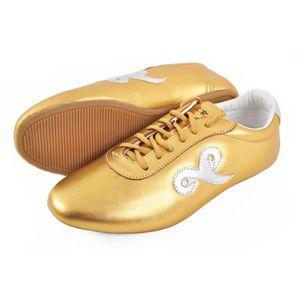 Chaussure Toning ShenLong Chaussures Wushu «Qiankun», Or