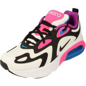 BASKET Nike Air Max 200 GS Running Trainers At5630 Sneake