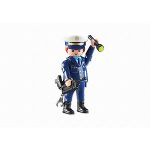 UNIVERS MINIATURE PLAYMOBIL 6502 Chef des policier POLICE