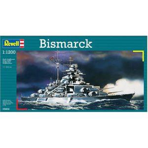 MAQUETTE DE BATEAU REVELL Model-Set Bismarck - Maquette