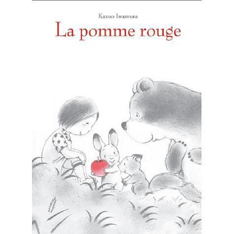 Livre 3-6 ANS La pomme rouge