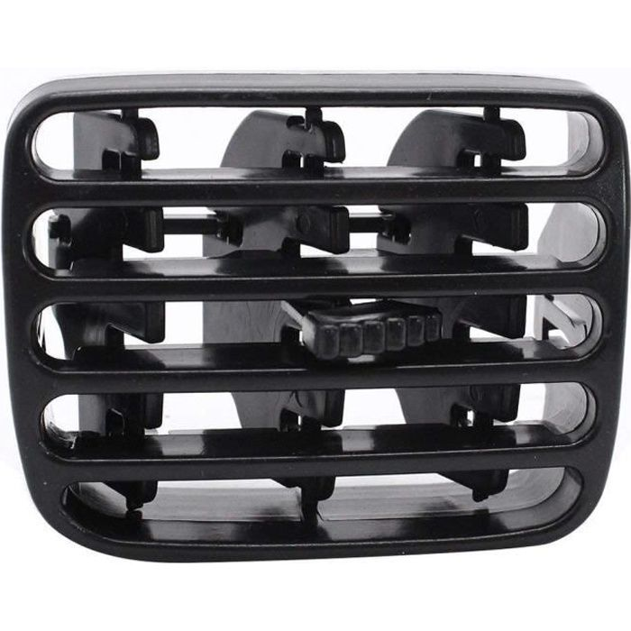 FINAO FRANCE - Grille de ventilation aération centrale noir côté gauche du tableau de bord pour Renault Clio 2 II