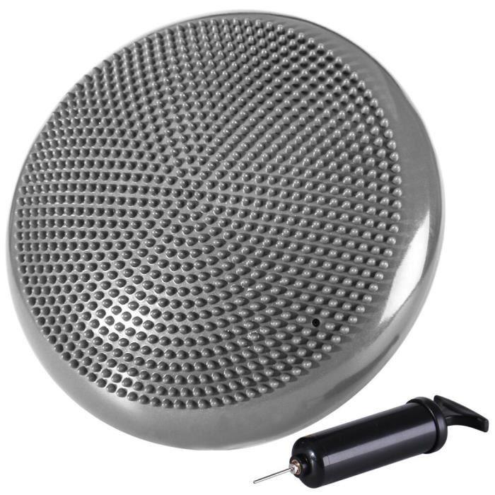 Kabalo GRIS Stabilité disque Balance Pad Coussin Wobble avec pompe bleue gratuite Disque de stabilité - Accueil du matériel de