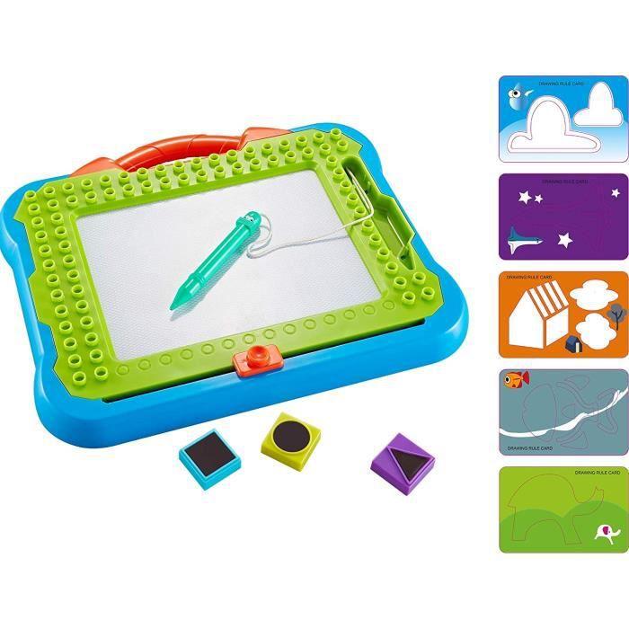 Tableaux ThinkGizmos Ardoise Magique - Tablette Graphique Magnétique - pour Bureau Enfant - Age 3 4 5 6 7 et 8 Ans - TG8 1824