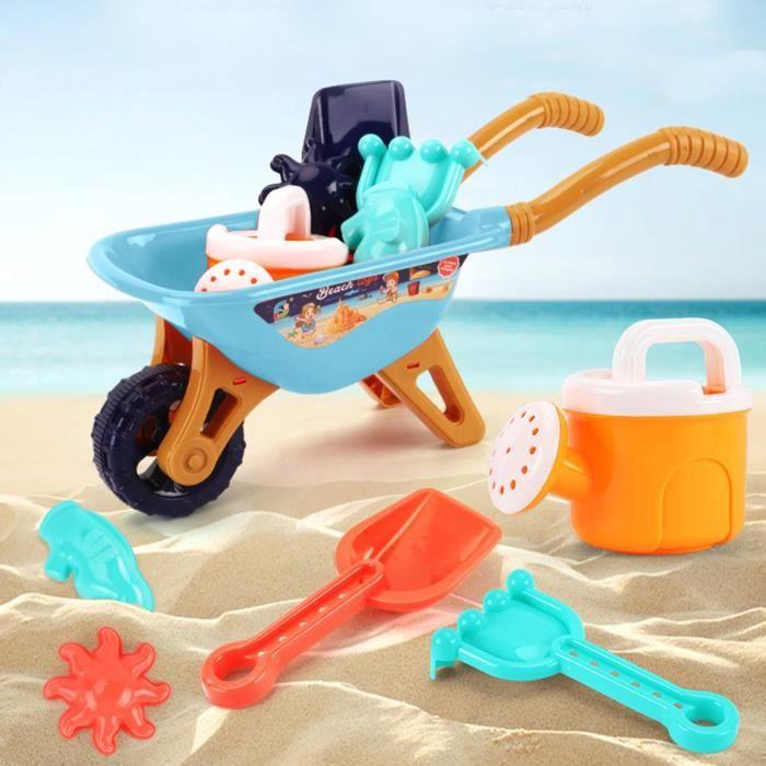 Jouet de plage Ensemble de sable Jeu de sable Jouet de bac à sable Jouet de plein air d'été pour garçons et filles 159