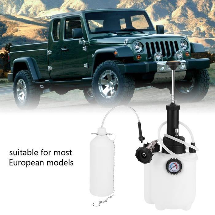 Purgeur de frein de voiture - purgeur de liquide de frein - Capacité : 3L - 20 * 18 * 40cm