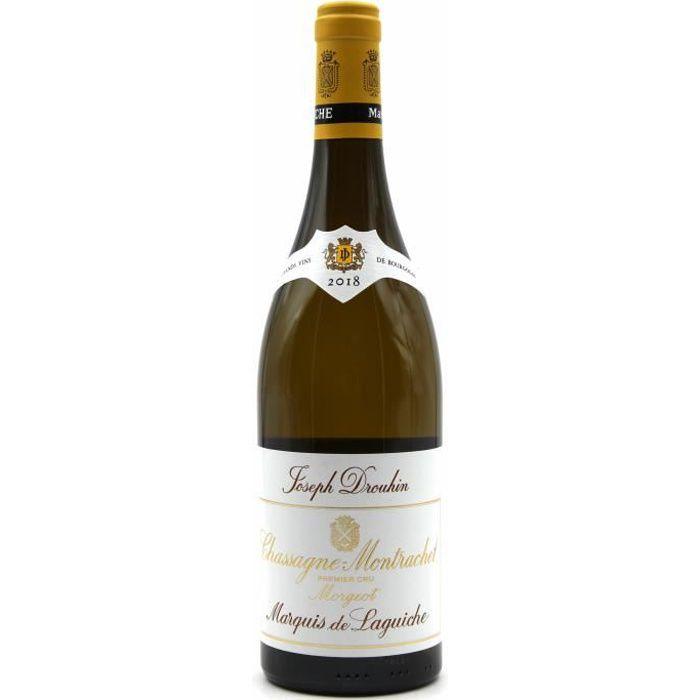 Chassagne Montrachet Morgeot Marquis de Laguiche 1er Cru 2018 Blanc - Joseph Drouhin
