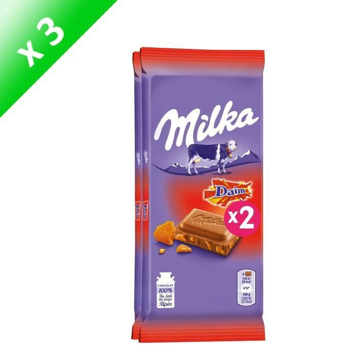 [LOT DE 3] Tablette de chocolat 200g Milka