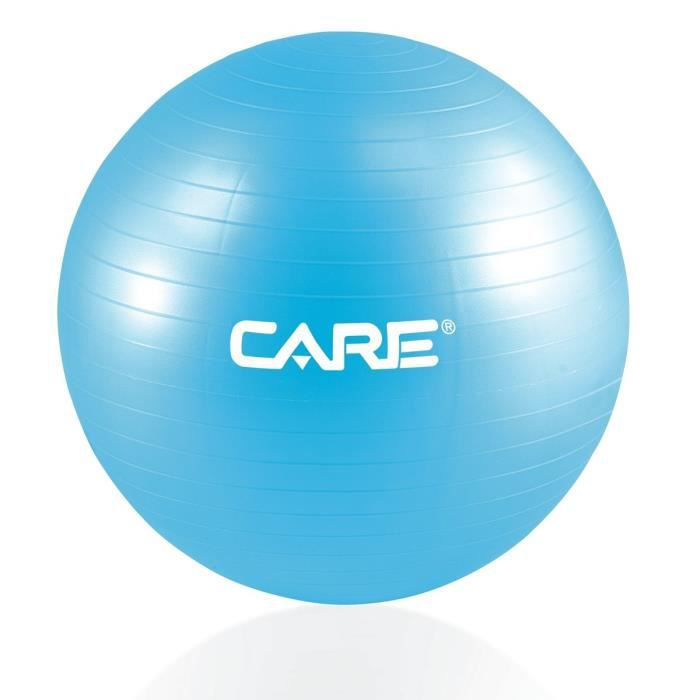 CARE Gym-Ball 65cm Anti-eclatement avec Pompe