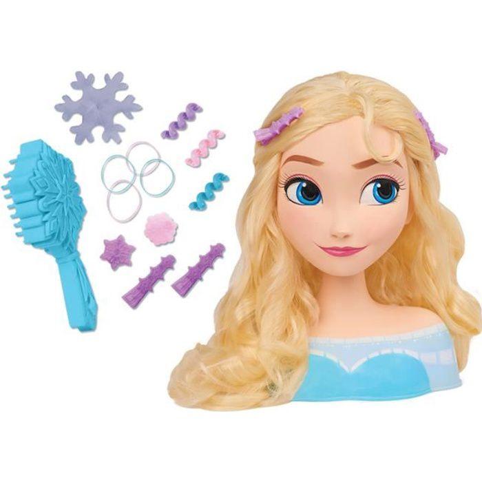 Disney Tête à coiffer Princesse Elsa - Reine des neiges