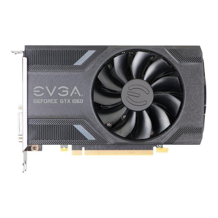 Evga Geforce Gtx 1060 Gaming Carte graphique Gf Gtx 1060 3 Go Gddr5 Pcie 3.0 x16 Dvi, Hdmi, 3 x Displayport