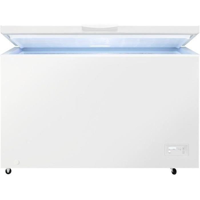 FAURE FCAN38FW2 - Congélateur coffre - 371L - Froid statique - L130 x H84,5 cm - Blanc