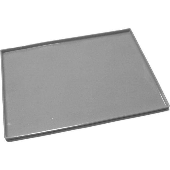 Plaque à génoise en silicone 37x27 cm Gris
