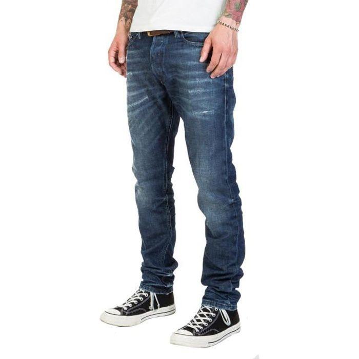 Jean bleu homme Diesel Tepphar L.32 Pantaloni