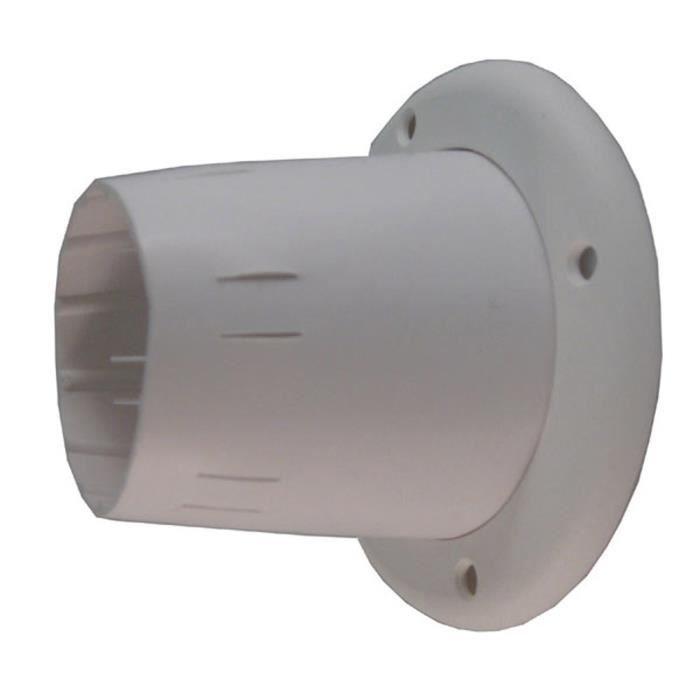 Passe-câbles ouvert - blanc - ø105 mm exterieur - PVC