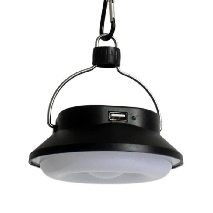 Lumière de Camping solaire intégrée USB charge 2 vitesses batterie au Lithium LAMPE - LANTERNE - ECLAIRAGE D'APPOINT DE CAMPING