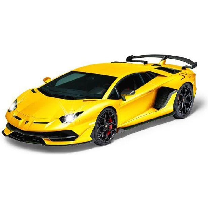 Rastar RC Lamborghini Aventador SVJ jaune 1:14