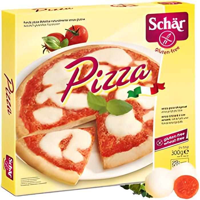 Pizza - Fonds de pizza précuits sans gluten - 3…