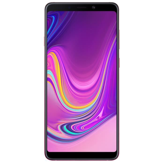 TIM Samsung Galaxy A9 (2018), 16 cm (6.3-), 6 Go, 128 Go, 25 MP, Android 8.0, Rose