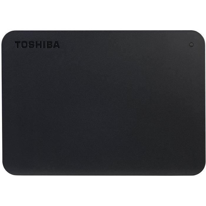 TOSHIBA - Disque dur Externe - Canvio basics - 2To - USB 3.0 (HDTB420EK3AA)