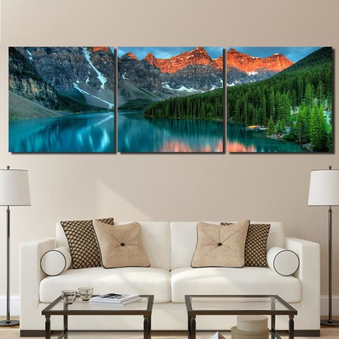 Decoration murale montagne elegant with decoration murale for Decoration murale montagne