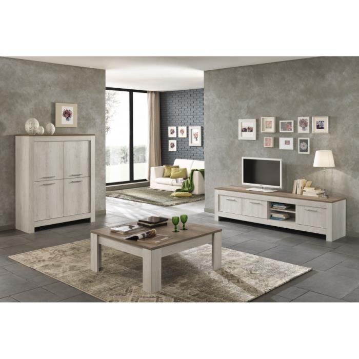 table basse carr padova ch ne blanchi ch ne clair achat. Black Bedroom Furniture Sets. Home Design Ideas