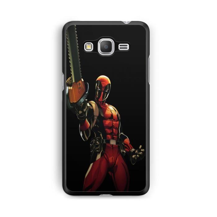 Coque Samsung Galaxy Grand Prime Deadpool joker comics marvel hero ...