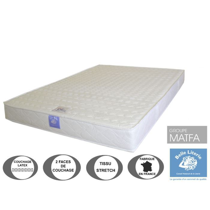 matelas ergoflex 18cm belle literie par ameline 2009992624025 achat vente matelas cdiscount. Black Bedroom Furniture Sets. Home Design Ideas