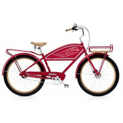 beach cruiser electra delivery 3i red prix pas cher cdiscount. Black Bedroom Furniture Sets. Home Design Ideas