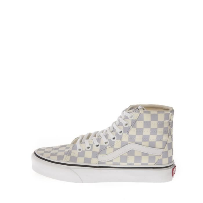 vans checkerboard basket