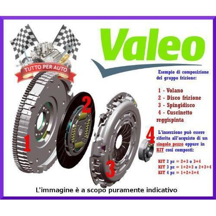 Valeo 804005 BUTEE D EMBRAYAGE