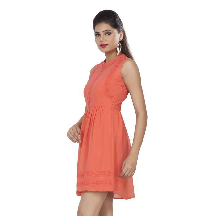 Womens Shift Dress Z38IF Taille-40