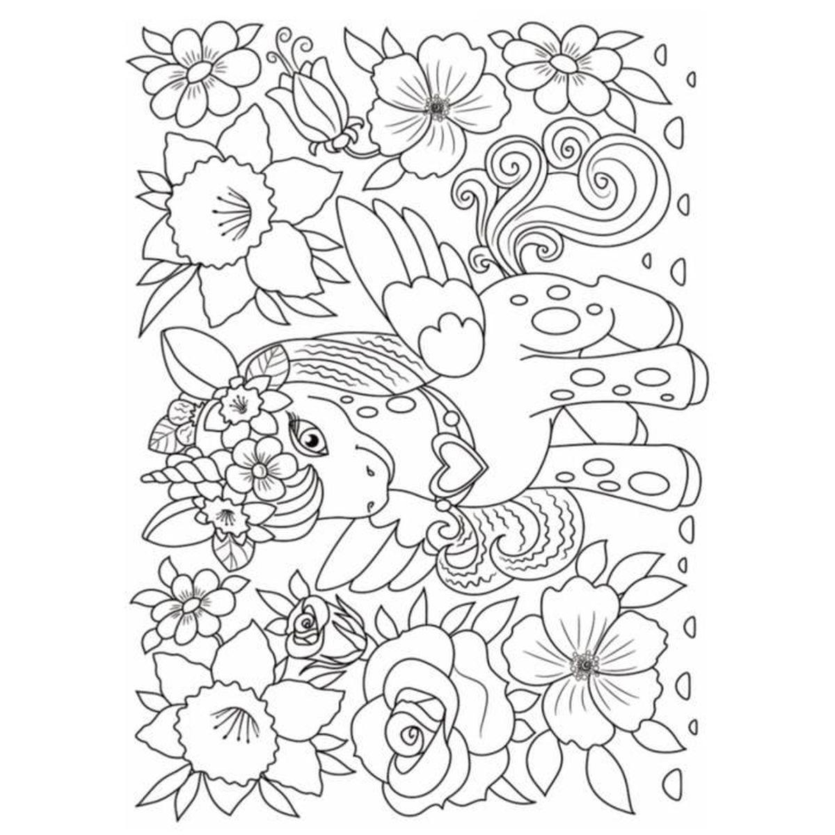 Livre De Coloriage Licorne Pour Enfant De 4 A 10 Ans 50 Dessins De Licorne Grand Format A4 Pour Les Enfants Achat Vente Livre De Coloriage Cdiscount
