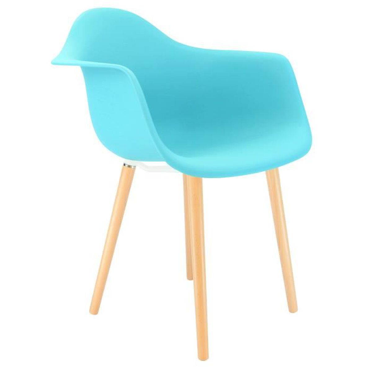 Chaise privee chaise atw baby blue naturel achat vente chaise - Cdiscount vente privee ...