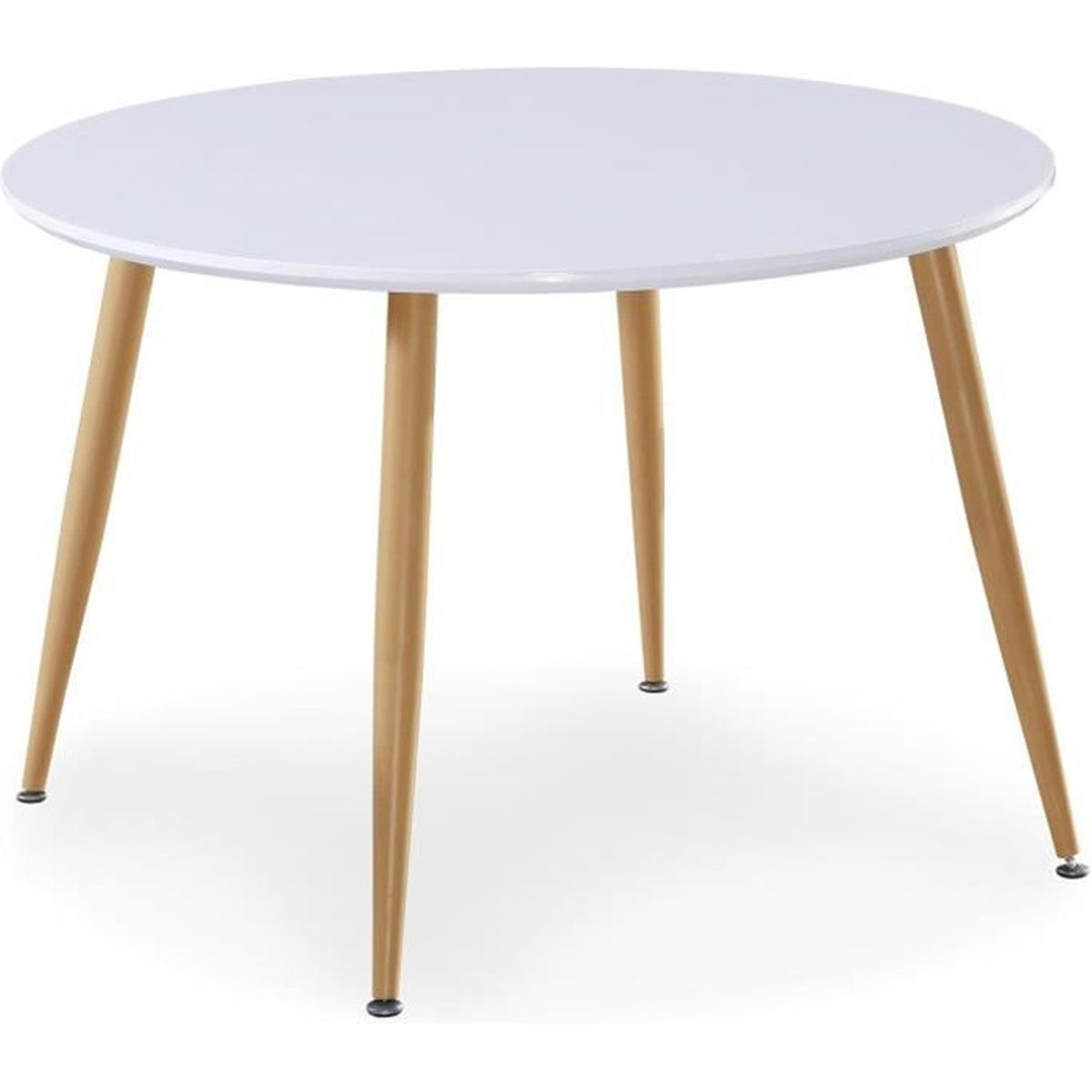 Table salle a manger scandinave for Table scandinave blanc et bois