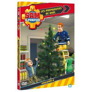 DVD DESSIN ANIMÉ DVD Sam le pompier - Vol 6 les préparatifs de noël
