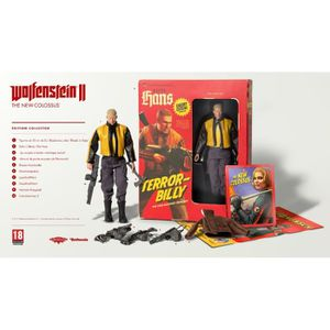 JEU PC Wolfenstein II The New Colossus Edition Collector