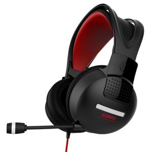 CASQUE AVEC MICROPHONE Casque Gaming G956 7.1 Somic Rouge et noir