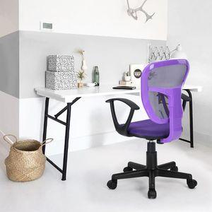 CHAISE DE BUREAU Chaise de Bureau Enfant Studio Fauteuil Siège à Ro