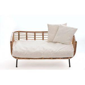 CORBEILLE - COUSSIN Sofa en bambou pour chat Fay - SILVIO DESIGN