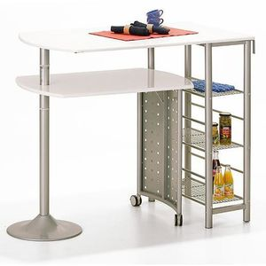 Table bar cuisine blanc achat vente table bar cuisine - Table bar cuisine castorama ...