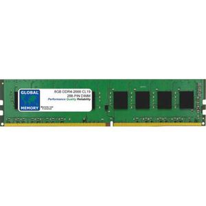 MÉMOIRE RAM 8Go DDR4 2666MHz PC4-21300 288-PIN DIMM MÉMOIRE RA