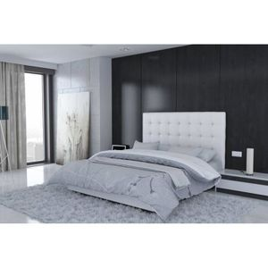 lit roma achat vente lit roma pas cher cdiscount. Black Bedroom Furniture Sets. Home Design Ideas