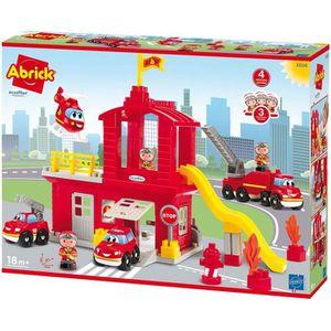 ASSEMBLAGE CONSTRUCTION ECOIFFIER ABRICK Caserne de pompiers