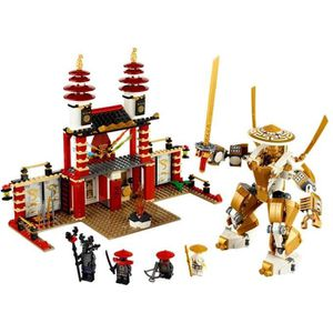 ASSEMBLAGE CONSTRUCTION LEGO NINJAGO® Temple of Light Battle w- 6 Minifigu
