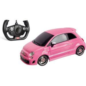 VOITURE À CONSTRUIRE Mondo Motors - Voiture télécommandée Fiat 500 Abar