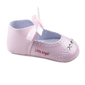 Lit enfant fille espadrille Chaussures bébé Rose