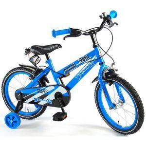 VÉLO ENFANT Vélo Enfant Garçon 16 Pouces Freins sur le Guidon
