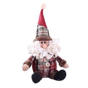 bonhomme de neige et ELF barre de chocolat Couvre Tricot Motif Père Noël