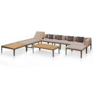 Salon de jardin avec sofa